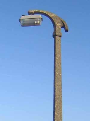 Thorn beta 5 mounted on a concrete utilities 2d concrete bracket and column in epsom