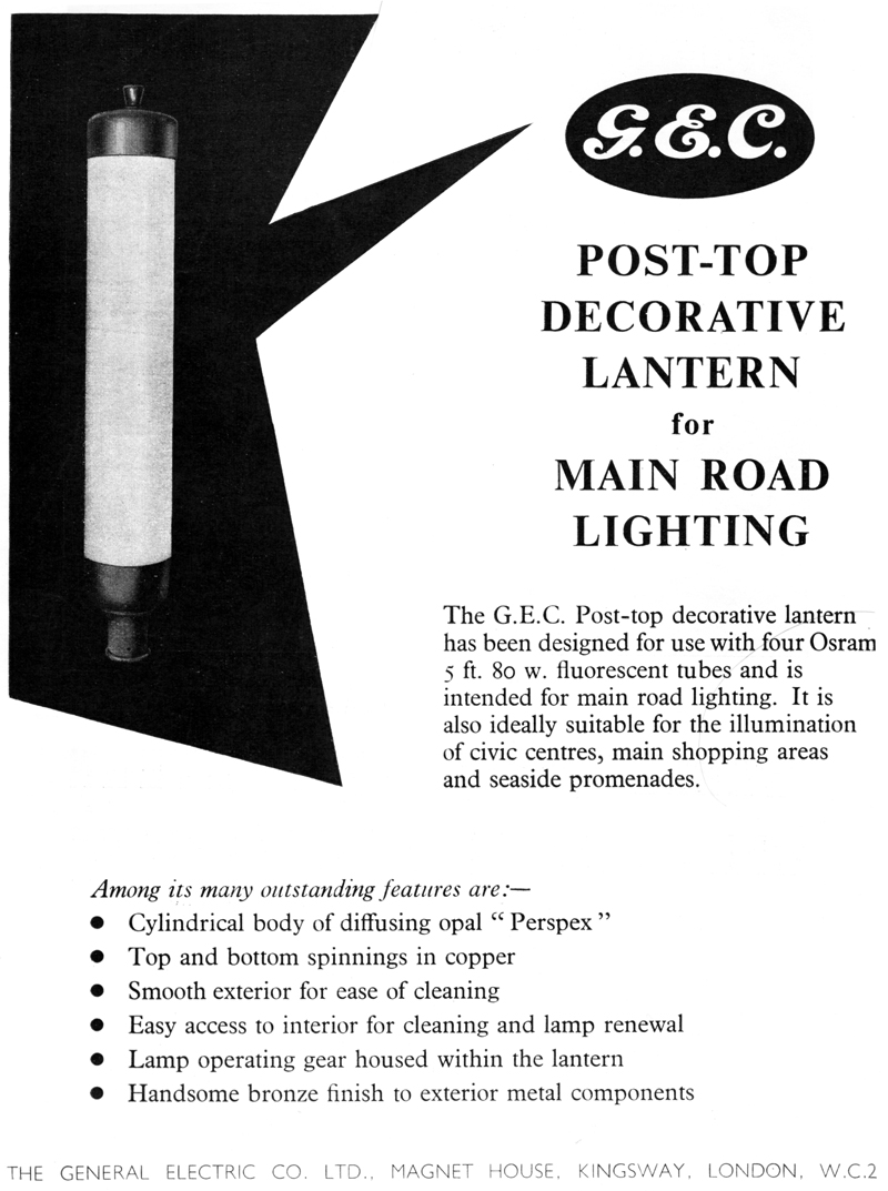 Decorative Street Lighting Manufacturers