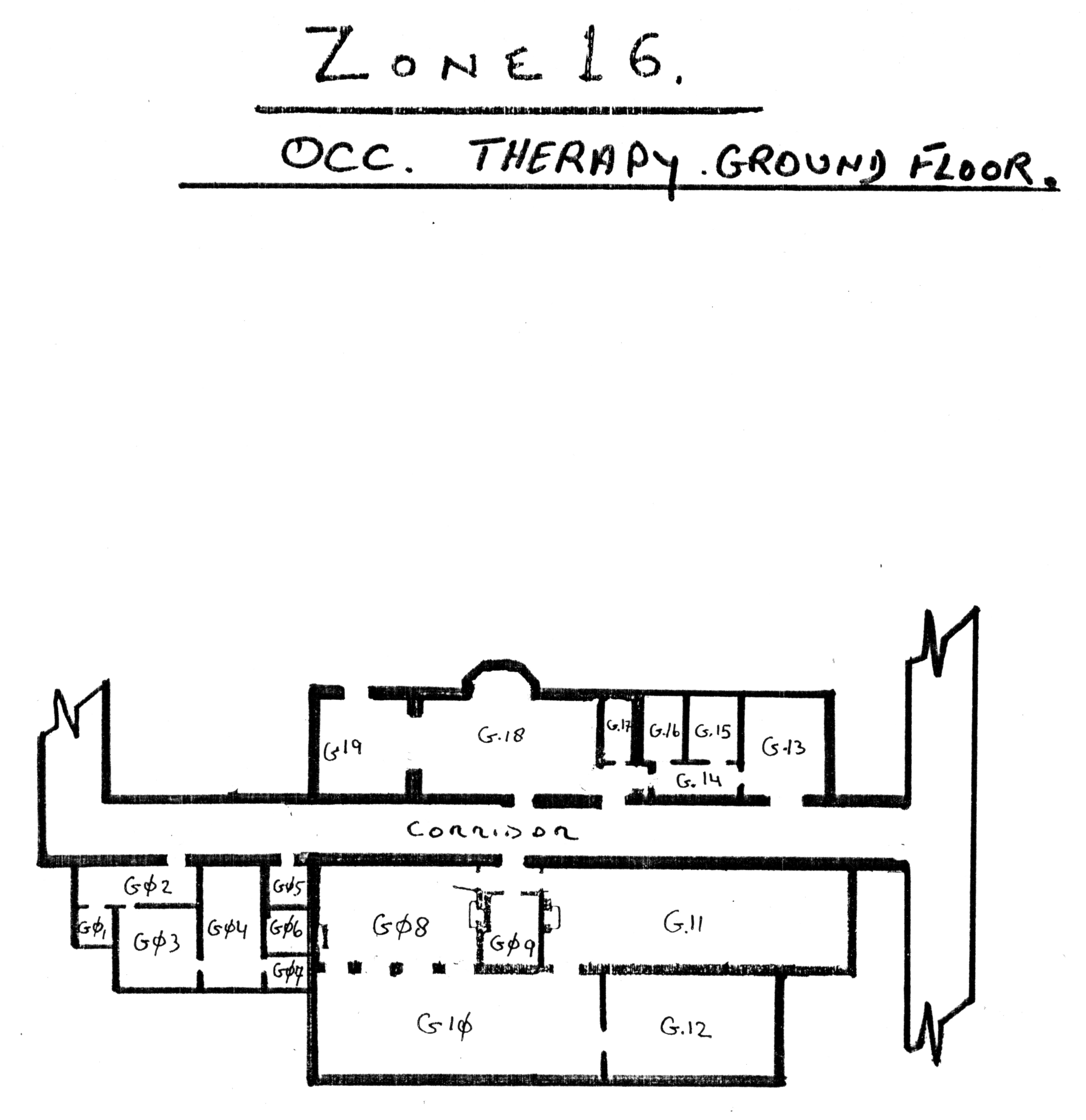 Cane hill Servant quarters floor plans